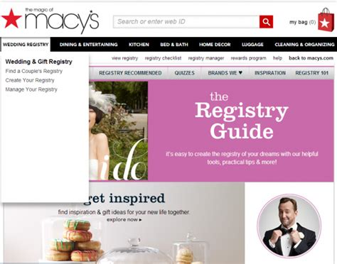 best stores to register for wedding how to create a wedding registry for the top retail stores