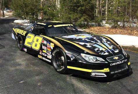 Dirt Modified Race Wrap James   RacingGraphics.com