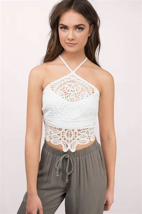 crop top blouse white crop top backless top white top 25 00