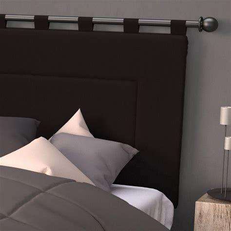 cuisine epinal tete de lit avec tringle a rideau dootdadoo com idées