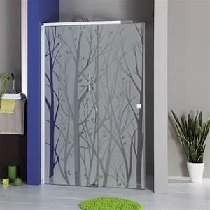 stickers vitre salle de bain 1 sticker depoli pour With vitre pour salle de bain