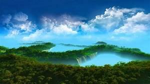 3D landscape wallpapers