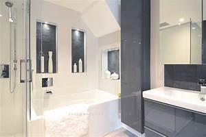 Carrelage Avant Ou Apres Receveur : petite salle de bain espace optimis martine bourdon d coratrice d 39 int rieur ~ Nature-et-papiers.com Idées de Décoration