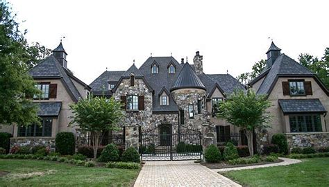 Chateau House Plans by Grand Country Chateau 17751lv Architectural