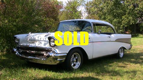 Chevrolet Dealers Nc by 1957 Chevrolet Bel Air Stock A114 For Sale Near