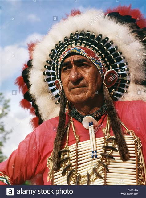 Indian Chief Image by Portrait Of Sioux Indian Chief Big Cloud Headdress