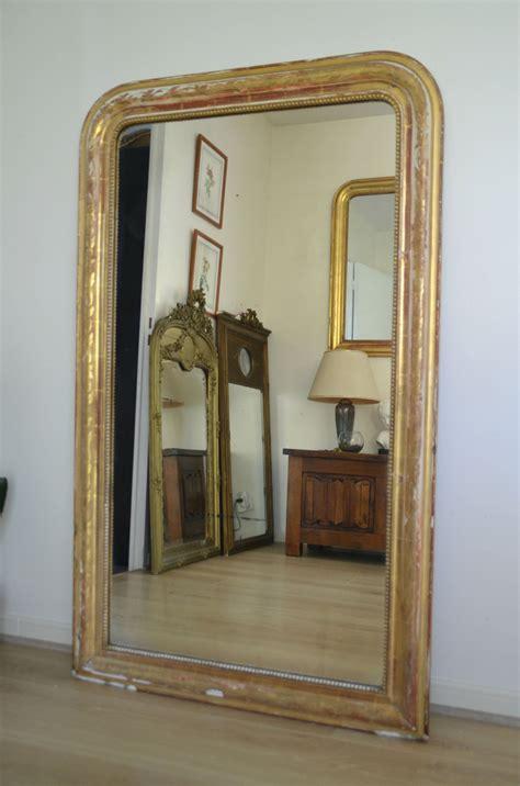 miroir ancien doré mirror table psyche gold metallic directional miror bi ideas