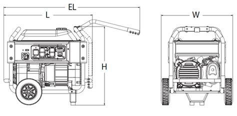 Generac Series Watt Portable Generator