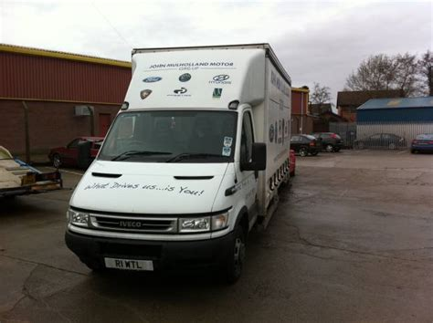 Ford Iveco Daily Covered Car Transporter