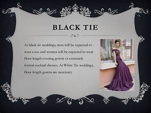 rules of wedding attire a guide to understanding With black dress to a wedding appropriate