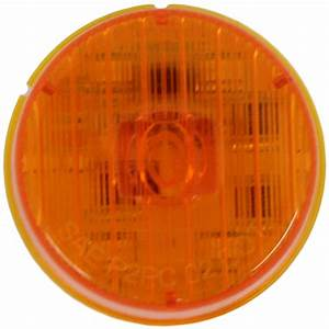 Optronics Sealed  2 U0026quot  Round Led Clearance  Side Marker Light