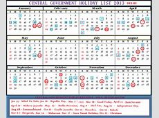 ALL INDIA POSTAL STENOGRAPHERS ASSOCIATION Calendar 2013