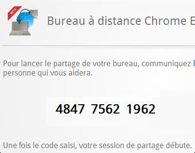 controle bureau a distance chrome remote desktop prendre le contrôle d 39 un