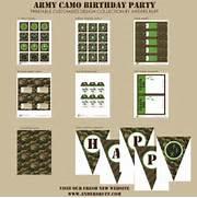 Camo Birthday Party Printable Invitation Hunting Camouflage Birthday Pink Camouflage Birthday Invitation Printable Or Printed With Camo Invitations Template Army Birthday Party Camouflage Army Birthday Party Invitation By GingerSnapsOriginal