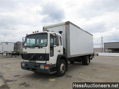 volvo trucks for sale in used 1996 volvo fe 42 box van truck for sale in pa 24034