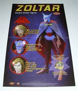 WOLVERINE STATUE/ZOLTAR BATTLE OF THE PLANETS FIGURE ...