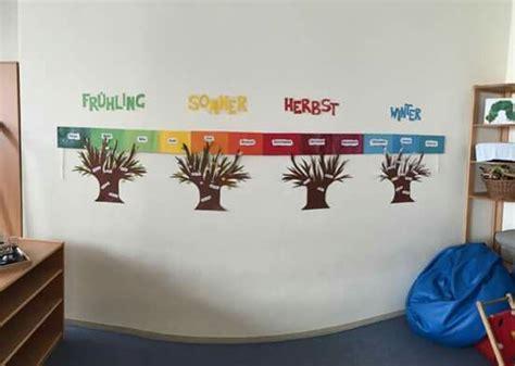geburtstagskalender im kindergarten basteln jahreszeiten geburtstag kindergarten lernen montessori geburtstagskalender kindergarten