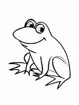 Frog Coloring Pages Print sketch template
