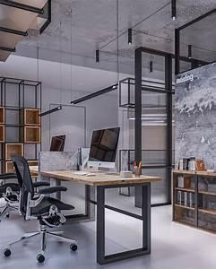 Industrial, Office, Studio, On, Behance