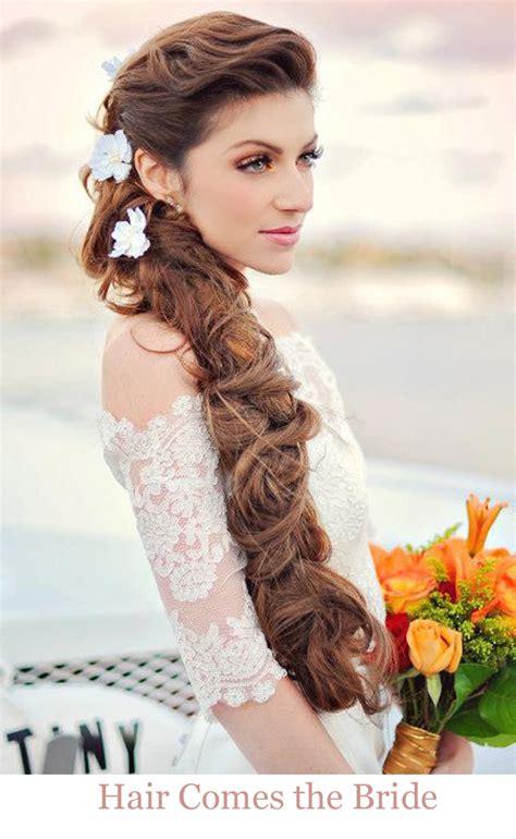 romantic beach bridal hairstyles hair   bride