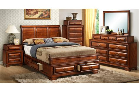 king bedroom sets contemporary king bedroom set cherry modern bedroom