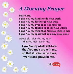 Talk Amen | Scripture & Inspiration | Good morning prayer ...