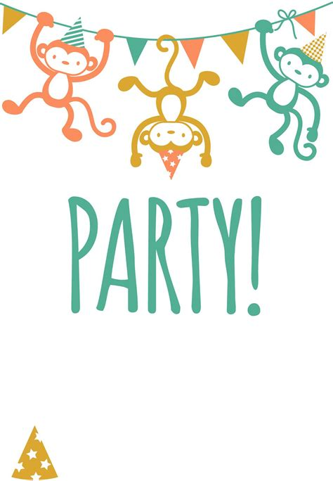printable childrens party invitation