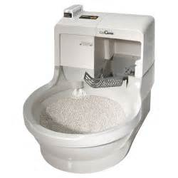 cat genie automatic flushing litter box the green