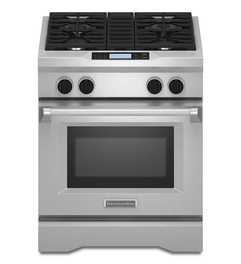 Kitchen Aid Gas Range by Kitchenaid 174 30 Inch 4 Burner With Steam Assist Oven Dual