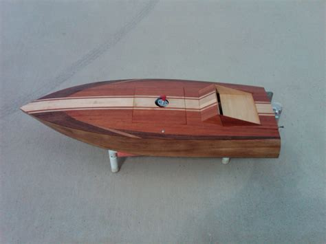 Rc Wooden Fishing Boat by Wood Rc Cracker Box Forsale Anyone Into Rc Boats The