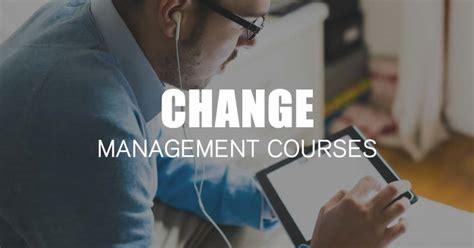 change management training courses  effective