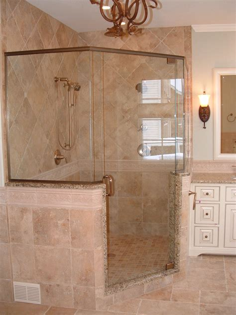 Shower Ideas For Bathroom by Amazing Corner Shower Stalls Decorating Ideas For Bathroom
