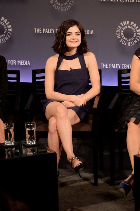 LUCY HALE at Paleyfest New York 2015 for Pretty Little ...