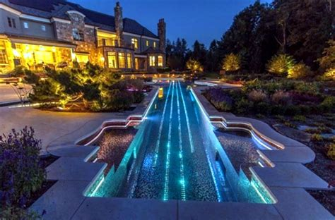 pool lights  highlight   outer zone interior