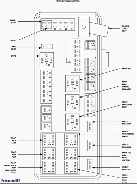 2008 Dodge Magnum Fuse Diagram by Fuse Panel Diagram For 2007 Dodge Charger Wiring Library