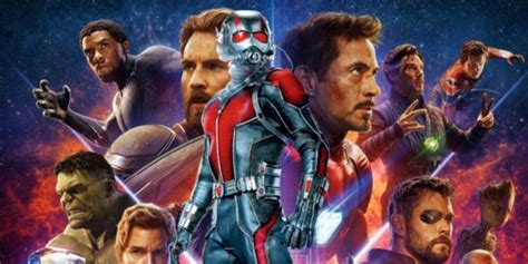 hidden ant man possibly spotted   avengers infinity