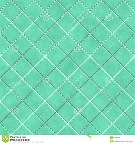 Seamless Green Tiles Texture Background Stock Illustration