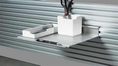 Slatwall Slatrail Desk Shelves Steelcase