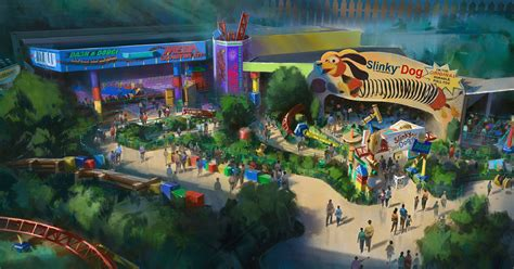 Toy Story Land Will Open In Disney World