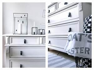 Antike Kommode Weiß : moderne ledergriffe f r eine alte kommode diy 107qm schwarz auf wei ~ Frokenaadalensverden.com Haus und Dekorationen