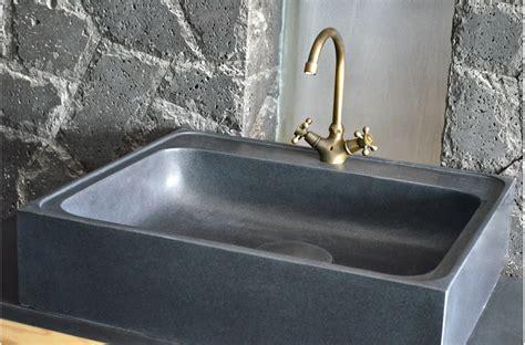 evier cuisine granit noir 70 x 60cm évier de cuisine en granit noir véritable