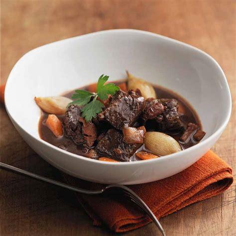 bœuf bourguignon sans vin recettes cookeo