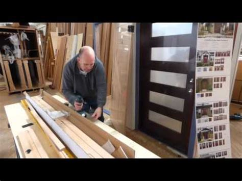 interior door reversible jamb kit assembly  youtube