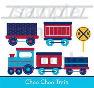 Choo Choo Train Clip Art