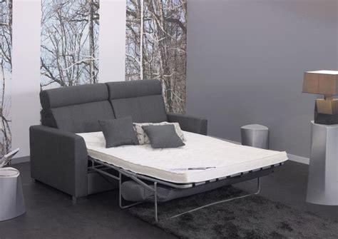 canapé lit 140x190 acheter votre canapé lit rapido couchage en 140x190 cm