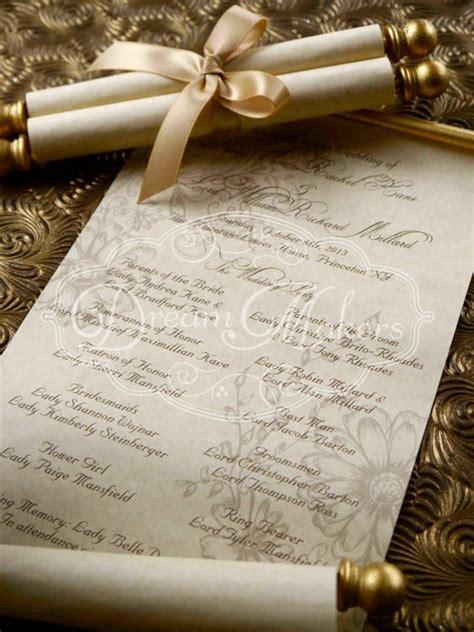 undangan pernikahan gulung undangan pernikahan