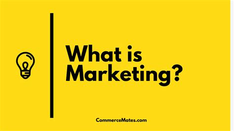 What S Marketing by What Is Marketing And Types Of Marketing