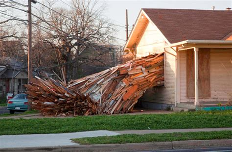 Condemned House by A Condemned House Explodes Onto The Streets Of