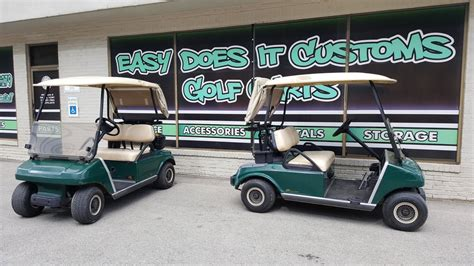 2007 electric club car ds golf cart new trojan batteries sold easy does it customs llc