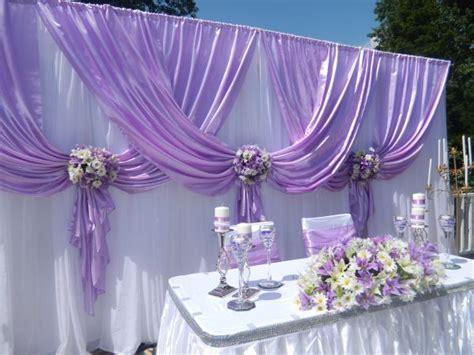 wedding decor purple